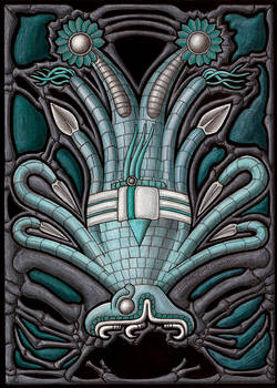 The Cephalopod Serpent God
