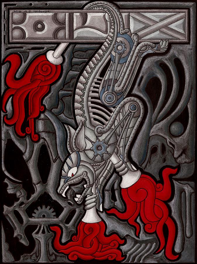 Blood Machine by A-D-McGowan