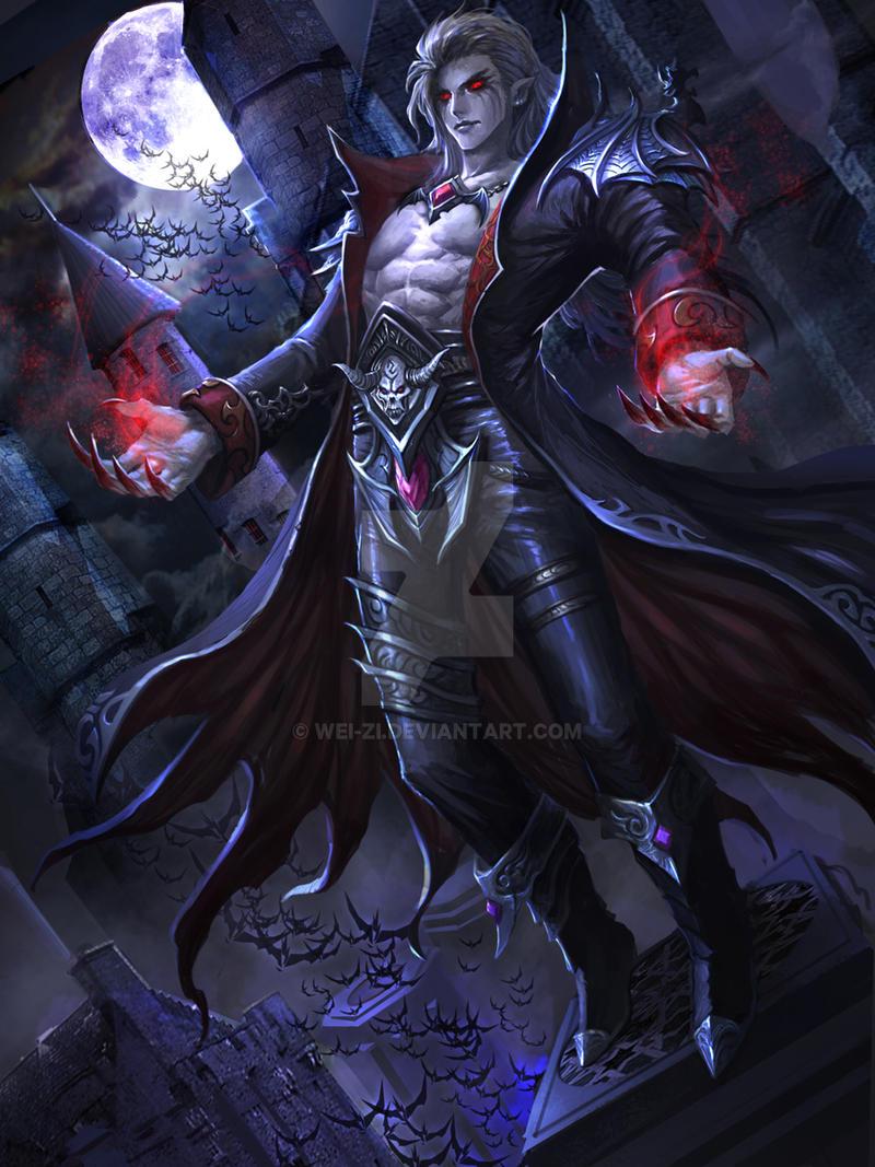 Wei Zi Vampire By Wei Zi On Deviantart
