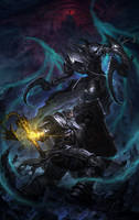 Crusader VS Malthael by wei-zi