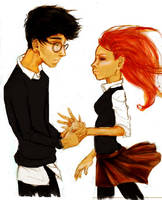 HP - Harry and Ginny by Elkiz