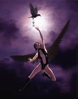 Gothic Angel - Reach by PaulSuttonArt