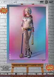 Harley Quinn, Lucky You - Suicide Squad by PaulSuttonArt