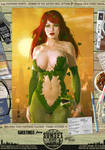 Poison Ivy 'Sunset City' Series by PaulSuttonArt