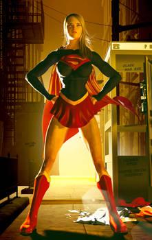 Supergirl Movie, Helen Slater Costume