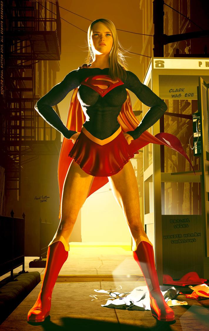 Supergirl Movie, Helen Slater Costume by DevilishlyCreative