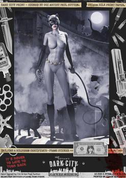 Catwoman III 'Dark City' Var. Signed Comic Print