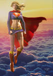 Supergirl Sunset II