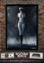 Catwoman, Gotham Girls Comic Series, Classic by PaulSuttonArt