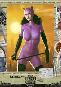 Jim Balent's Catwoman 'Sunset City' Comic Print
