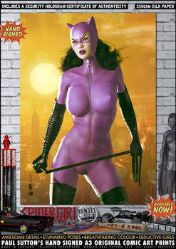 Jim Balent's Catwoman 'Sunset City' Series