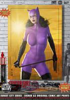 Jim Balent's Catwoman 'Sunset City' Series by PaulSuttonArt