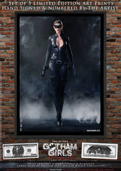 Catwoman, Gotham Girls Comic Series, Evolution by PaulSuttonArt