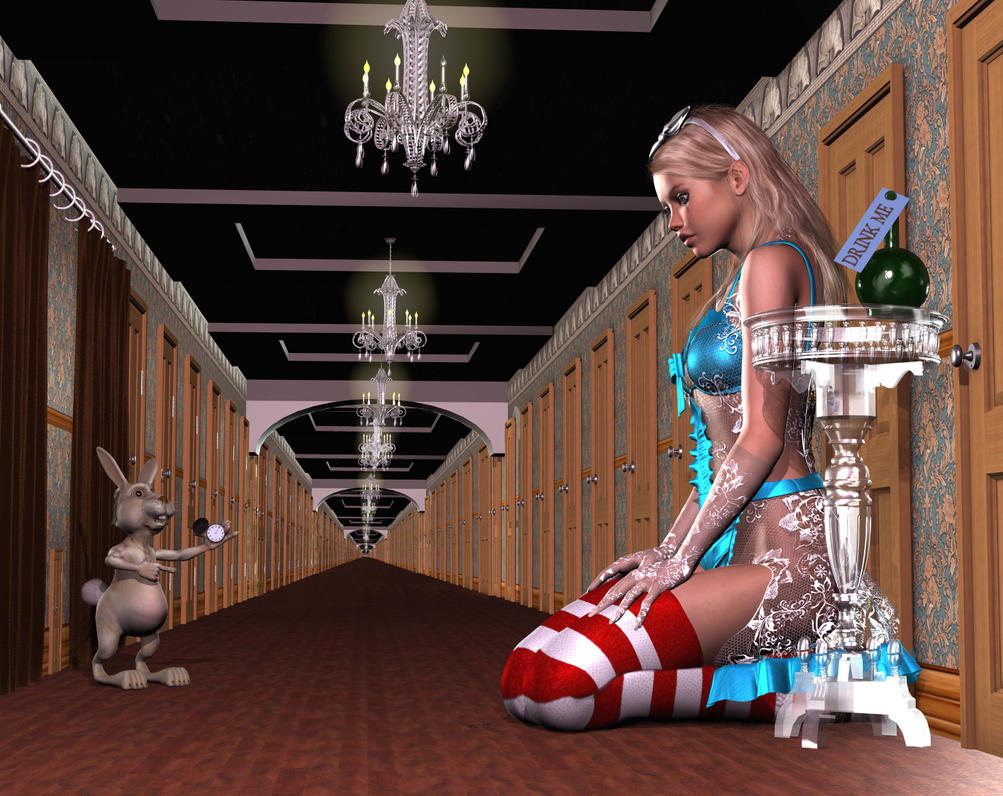 Alice in Wonderland - Drink Me by DevilishlyCreative