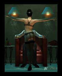the DANCER by PaulSuttonArt