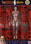 Extreme Bondage Barbie Doll by PaulSuttonArt
