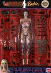 Extreme Bondage Barbie Doll by PaulSuttonArt