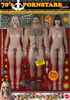 70's Pornstars Barbie Dolls