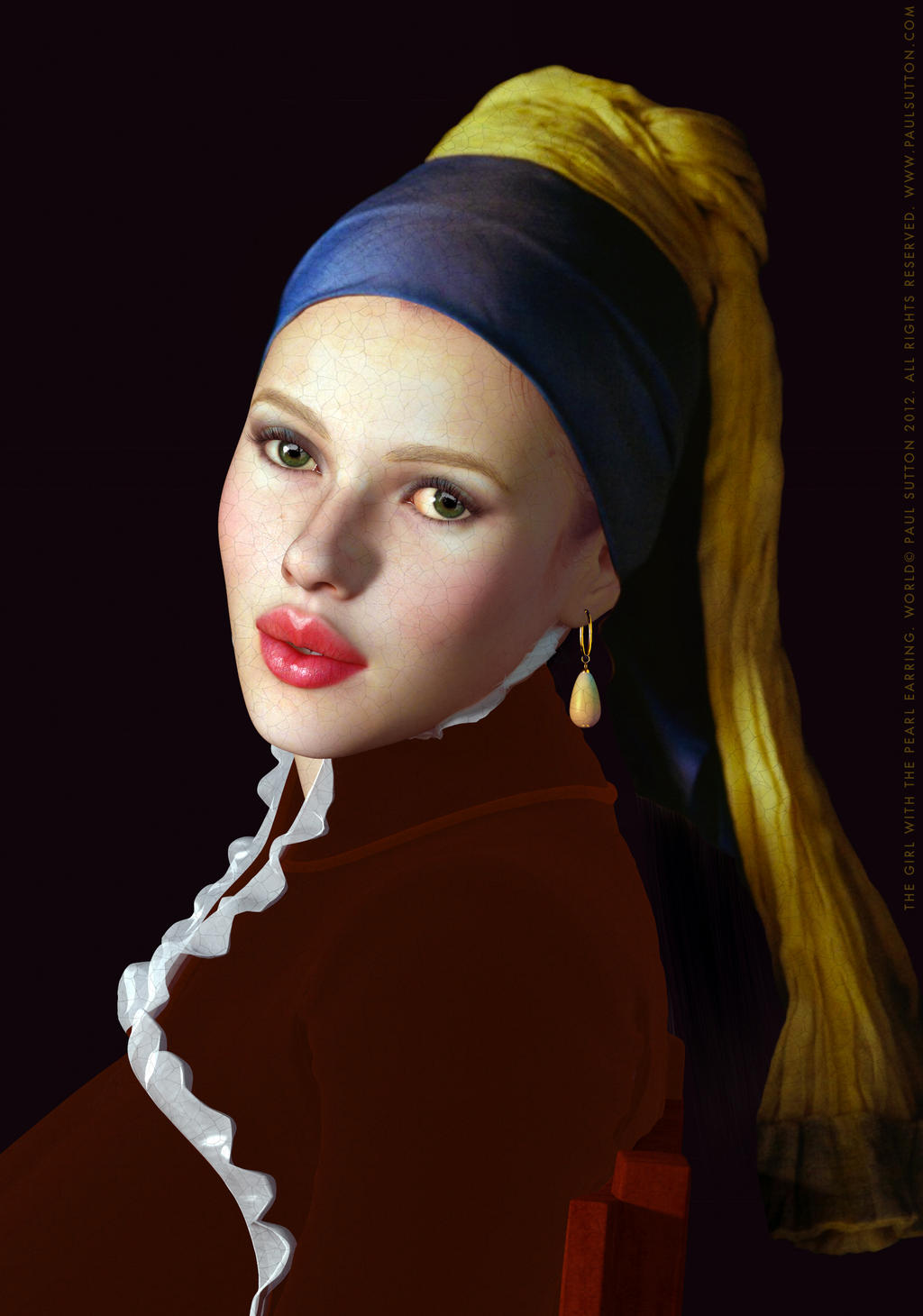 The Girl with the Pearl Earring by DevilishlyCreative on ...