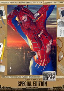 SPIDER-GIRL 'Ripped'N'Torn' SE Comic Print