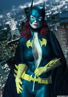 Batgirl Busted! by PaulSuttonArt