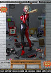 Harley Quinn 'It Still Fits' Gotham Self-Storage by PaulSuttonArt