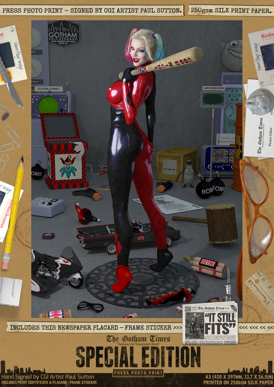 Harley Quinn 'It Still Fits' Gotham Self-Storage