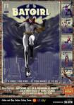 Batgirl 'Pulp Friction in the Sky' Art Print