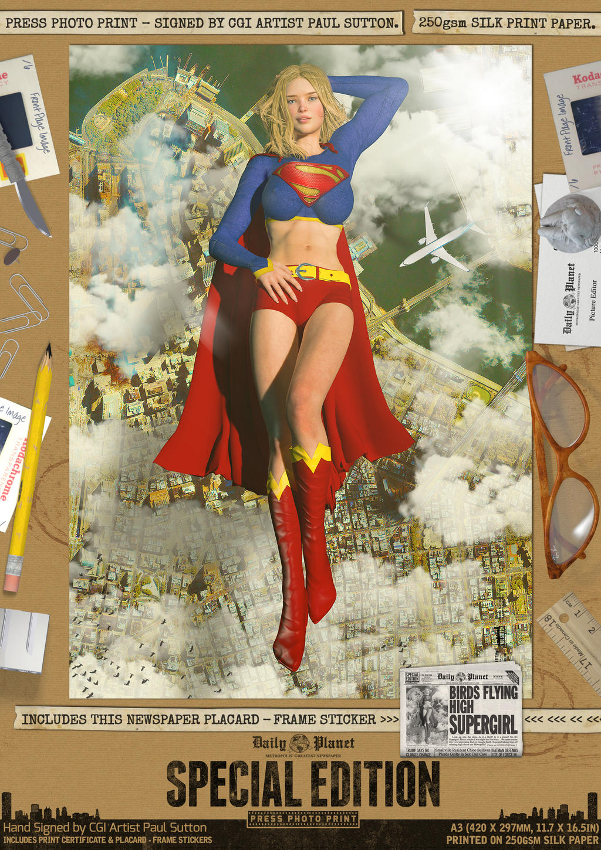 Birds Flying High... Supergirl