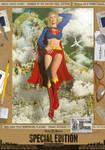 Supergirl 'Birds Flying High' Comic Print