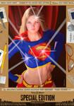 Supergirl Bulletproof Comic Print