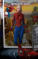 Spider-Girl 'Teenage Bedroom Heroines' Series by PaulSuttonArt
