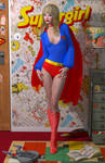 Supergirl 70 'Teenage Bedroom Heroines' Series