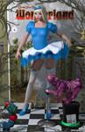 Alice Liddell 'Teenage Bedroom Heroines' Series by PaulSuttonArt