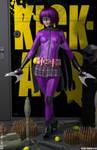 HIT-GIRL I 'Teenage Bedroom Heroines' Series by PaulSuttonArt