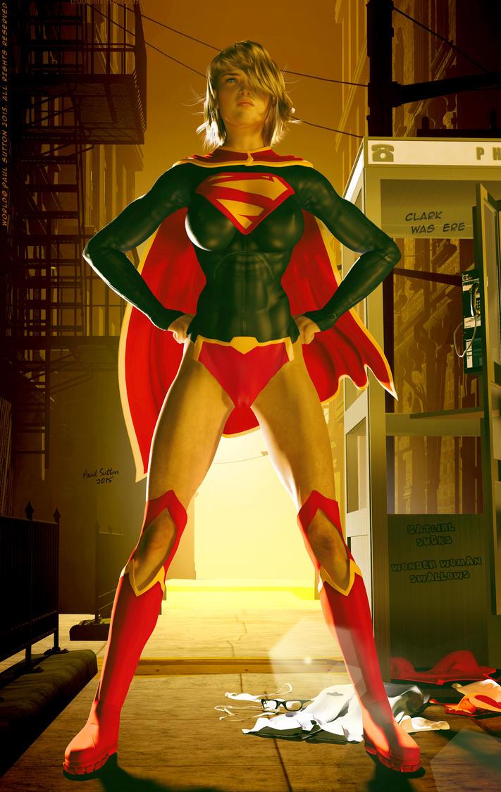 Supergirl NEW 52, DEr du-du d der DEHR DEr der... by DevilishlyCreative