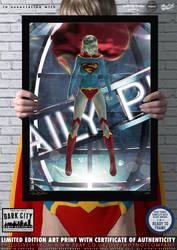Supergirl New 52 'Dark City' Series by PaulSuttonArt