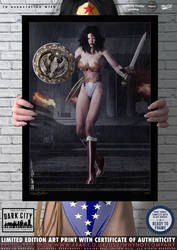 Wonder Woman 'Dark City' Series (Cosplay) No.7 by PaulSuttonArt