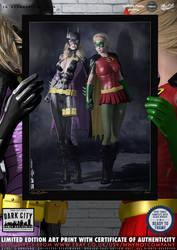 Batgirl and Robin, Stephanie Brown, Dark City No.8