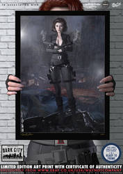 Black Widow Avengers 'Dark City' Series
