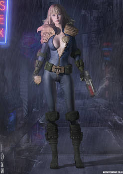 Judge Anderson Dark City Series (Cosplay) No.16