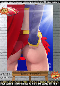 Cheeky Supergirl