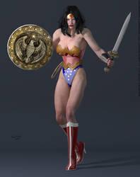 Wonder Woman SSC by PaulSuttonArt