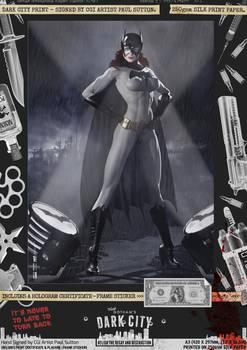 Batgirl 'Dark City' Var. Signed Comic Print