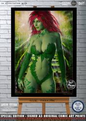 Poison Ivy, Toxic Paradise by PaulSuttonArt