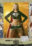 Evil Dark Supergirl 'Sunset City' Comic Print