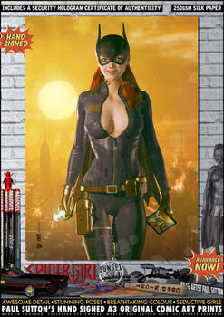 Batgirl Redesign 'Sunset City' Series