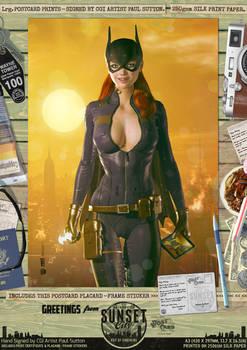 Batgirl of Burnside 'Sunset City' Comic Print