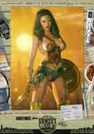 Wonder Woman 'Sunset City' Comic Print