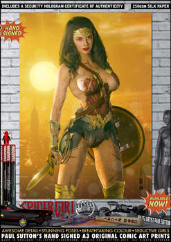 Wonder Woman 'Sunset City' Series